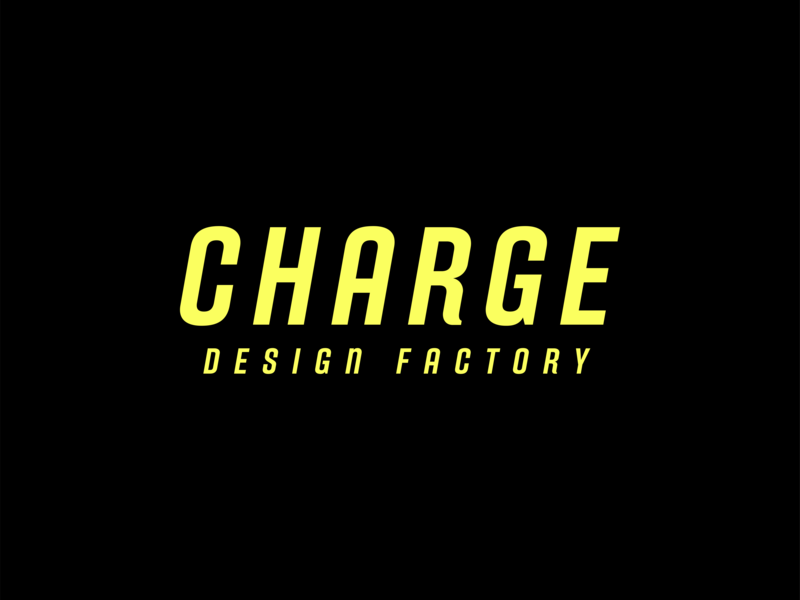 Charge Wordmark brand type mark logo charge