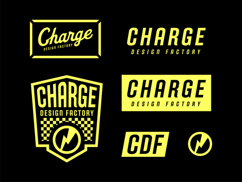 Charge Marks sheet flash brand logo charge