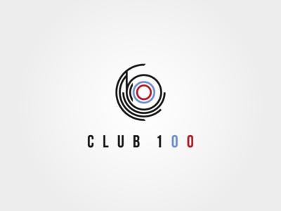 Logo Club 100 – radio oncology