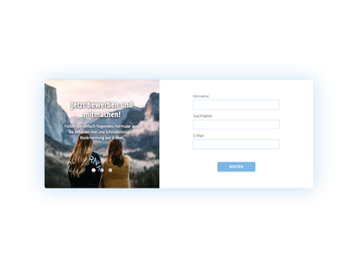 onboarding ui element form name mountain girls onboarding element ui