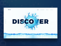 Water website Concept