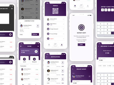 Payme Wallet App concept mobile app mobile app design xd vector icon iphone iphone 10 ios