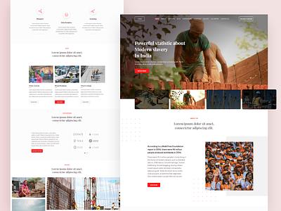 Website Concept dribbble navbar banner ux ui webdesign web website concept website design website