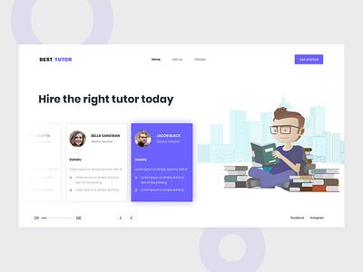Tutor illistration design clases tutor