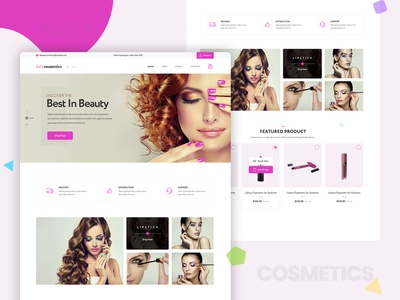 Cosmetic Homepage