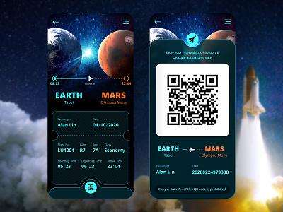 Boarding Pass   Daily UI #024 daily ui design boardingpass taiwan design app design app ui daily ui dailyui 林位青 app ui