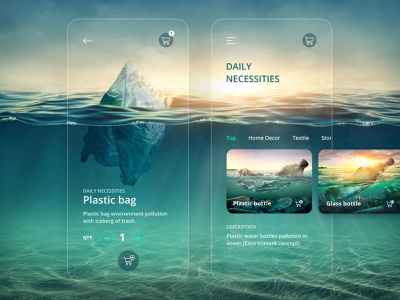 E-Commerce Shop (Single Item)   Daily UI #012 sea plastic bag design app design ui app daily ui dailyui 林位青 app ui e-commerce shop e-commerce app