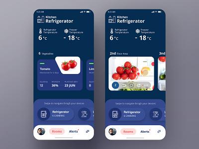 Home Monitoring Dashboard   Daily UI #021 smart home monitoring home home monitoring dashboard design ui app design app daily ui dailyui 林位青 app ui