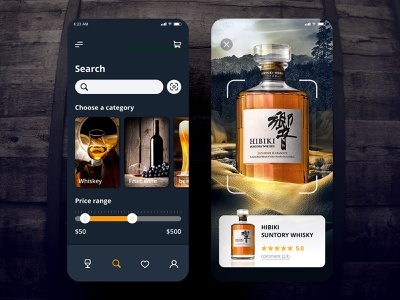 Search   Daily UI #022 whiskey wine alcohol taiwan app design design app dailyui app ui ui daily ui 林位青