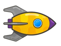 Spaceship for a game