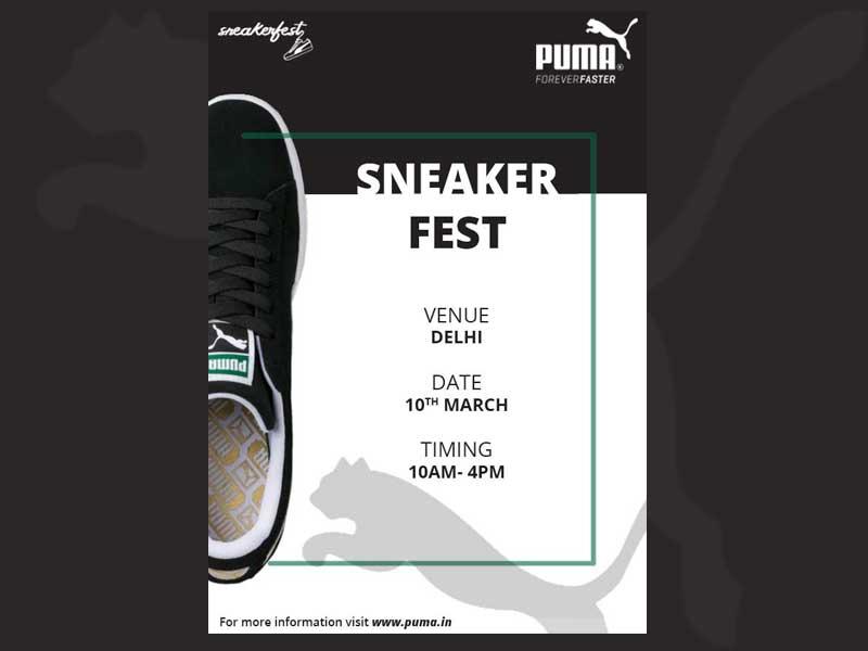 Sneaker Fest   Puma by shubhi on Dribbble