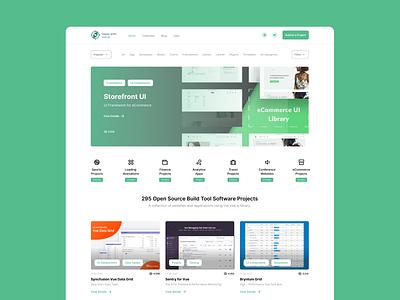 Made With Vue.js vue.js web design website portal