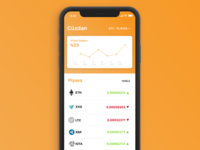 Coin Tracker Concept