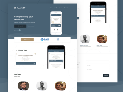 CertifyIST Blockchain Project