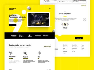 Dokuz Derece Adworks Website