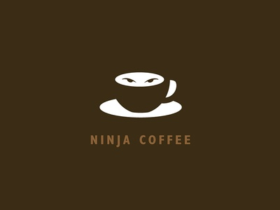 Ninja Coffee logo concept