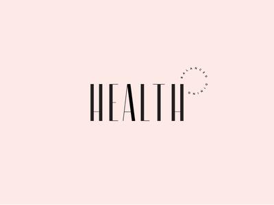 Health classic restaurant mark branding type typography logo logotype