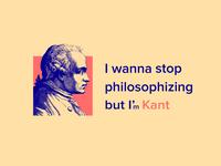 I'm Kant