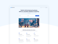 Migrationpro - Landing Page