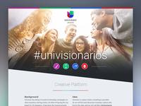 #Univisionarios Case Study