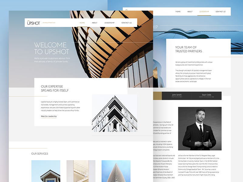 Company Microsite web responsive template wordpress corporate design ui website