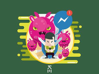 Everwing - Tap to play! facebook illustrator games messenger everwing design illustration