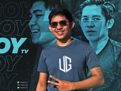 Doniboy TV Gaming Banner facebook gaming facebook banner philippines face photoshop gaming gaming banner