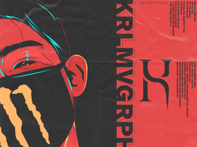 Karl x Nekhros Art Style face mask vexel art vector philippines face vectors vectorart photoshop vector art vexel
