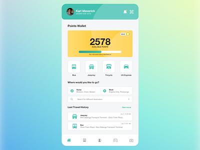 Get Pass App Redesign mobile app app design adobe xd ui design design ui philippines get pass
