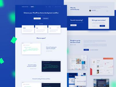 WordPress Starter Theme ✨ by Michał Nowakowski - Dribbble