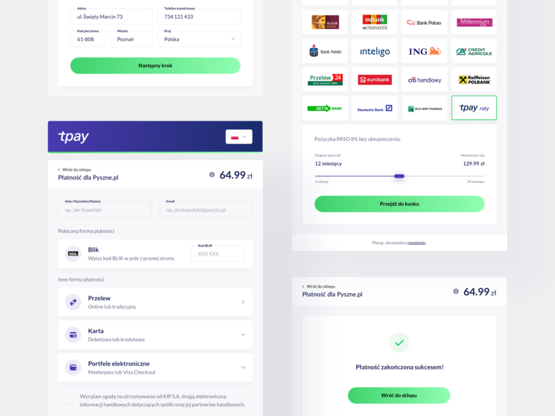 tpay — Transaction Panel 💳