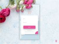 UI #03 Mobile App Sign In