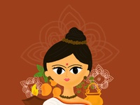 Navratri Series - Brahmacharini