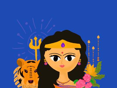 Navratri Series - Chandraghanta