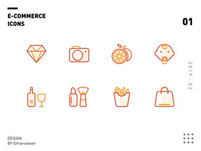 E-Commerce icons 01