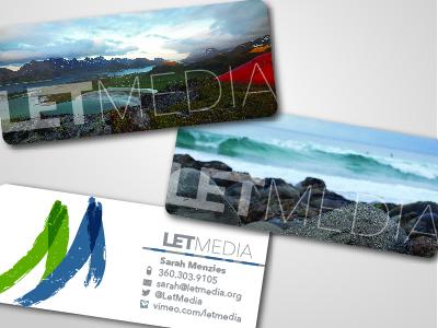 Let Media Business Cards