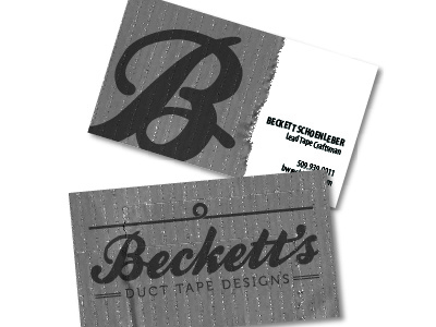 Beckett's Duct Tape Designs
