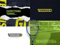 TennisGo logo explorations logo branding design brand brand design branding app logo design app logo app design sports branding sports design sports sport tennis logo tennis ball tennis
