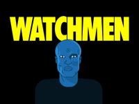 Watchmen dribbleweeklywarmup weekly warm-up weeklywarmup tv series fan art fanart doctor manhattan watchmen