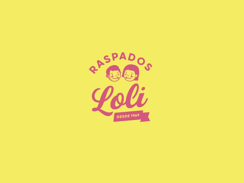 Raspados Loli Rebranding Concept nicaragua vintage logo retro design retro logo logo brand identity branding design brand design branding concept rebranding rebrand shave ice