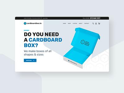 Cardboardbox ecommerce ui  ux design ui  ux uidesign ui startup boxes website design ecommerce business ecommerce design ecommerce shop ecommerce cardbox