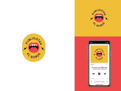 Podcast logo design nicaragua podcast branding podcast lips logo mouth logo logo podcast logo