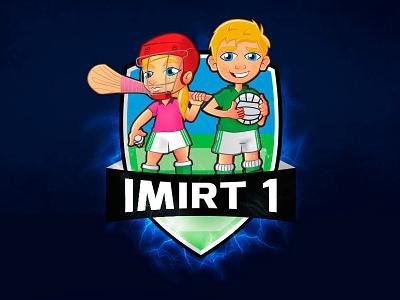 Imirt 1 Logo logo sport hurling football gaelic