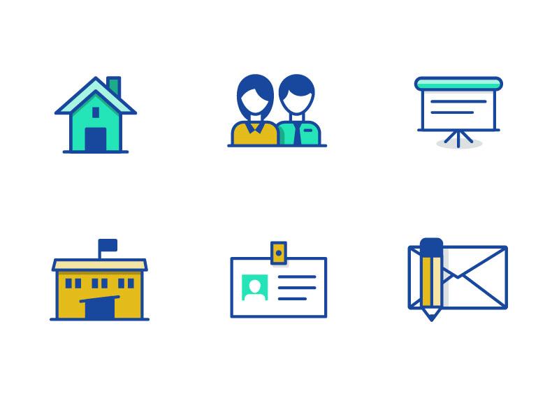 Navigation Icons navigation icons school icons home icon education icons school