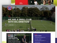 Clontarf Tennis Club Website Redesign