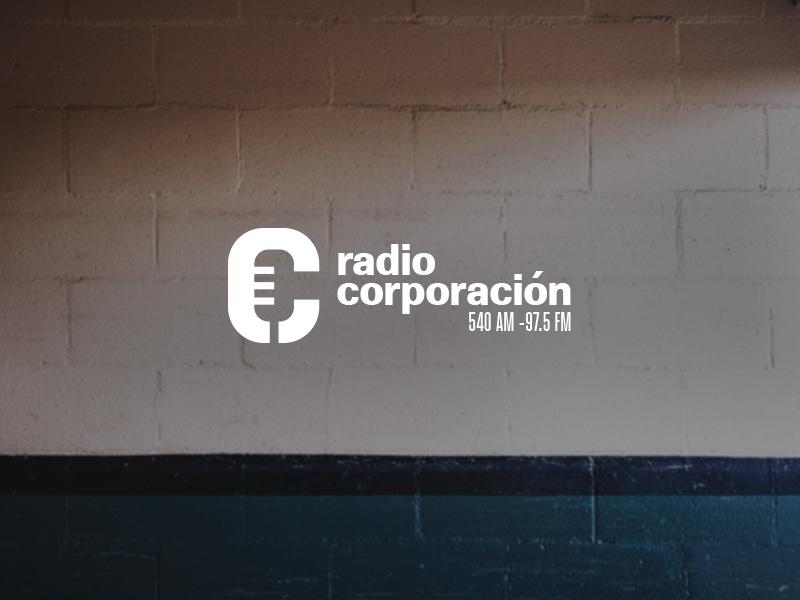 Radio Corporacion logo refresh brand refresh radio logo radio station brand logo