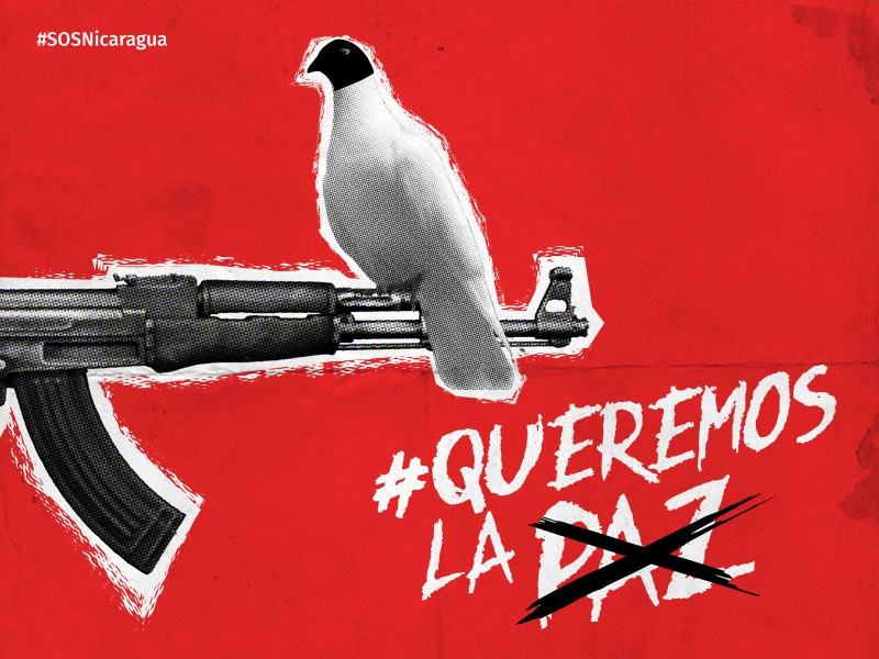 Queremos La... civil rights political poster protest war