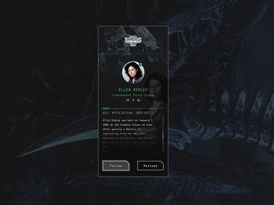 UI Challenge 006 User Profile