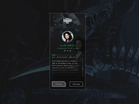 UI Challenge 006 User Profile