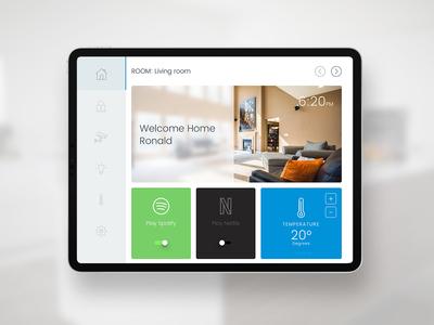 UI Challenge 021 Home Monitoring